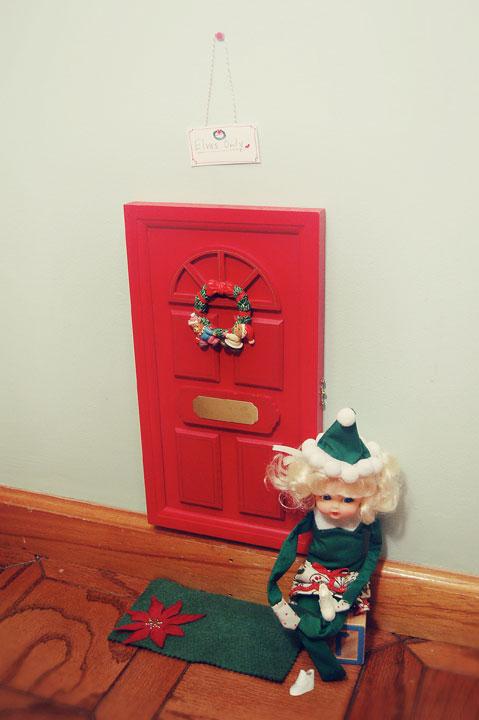 Elf size entrance inkablinka for Elf door ideas