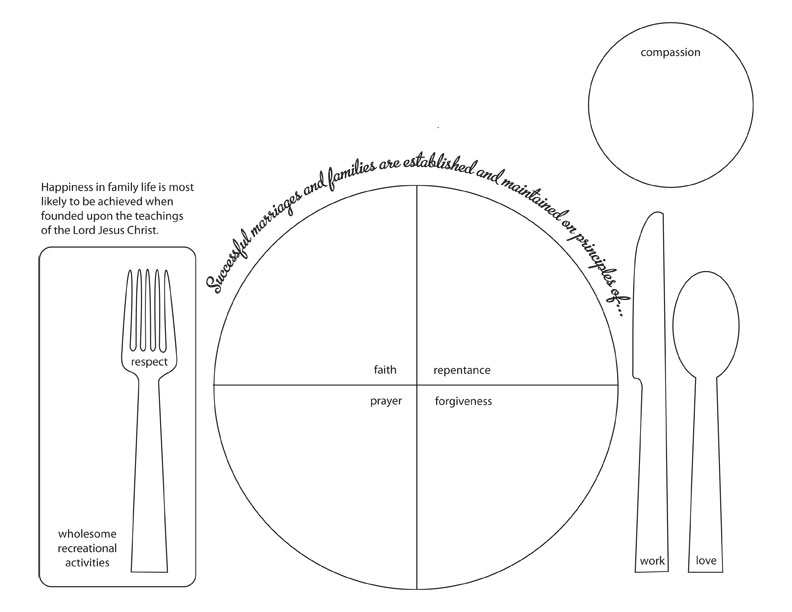 table setting coloring pages - photo #37